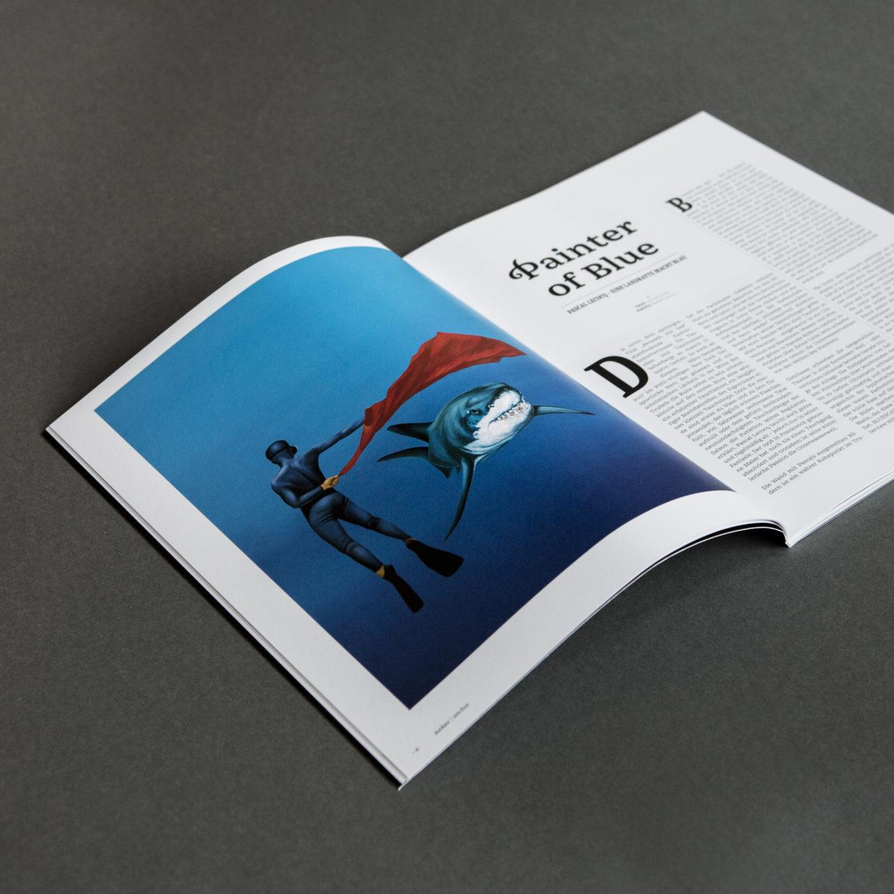 Bluescape Ausgabe 1 Beispielartikel