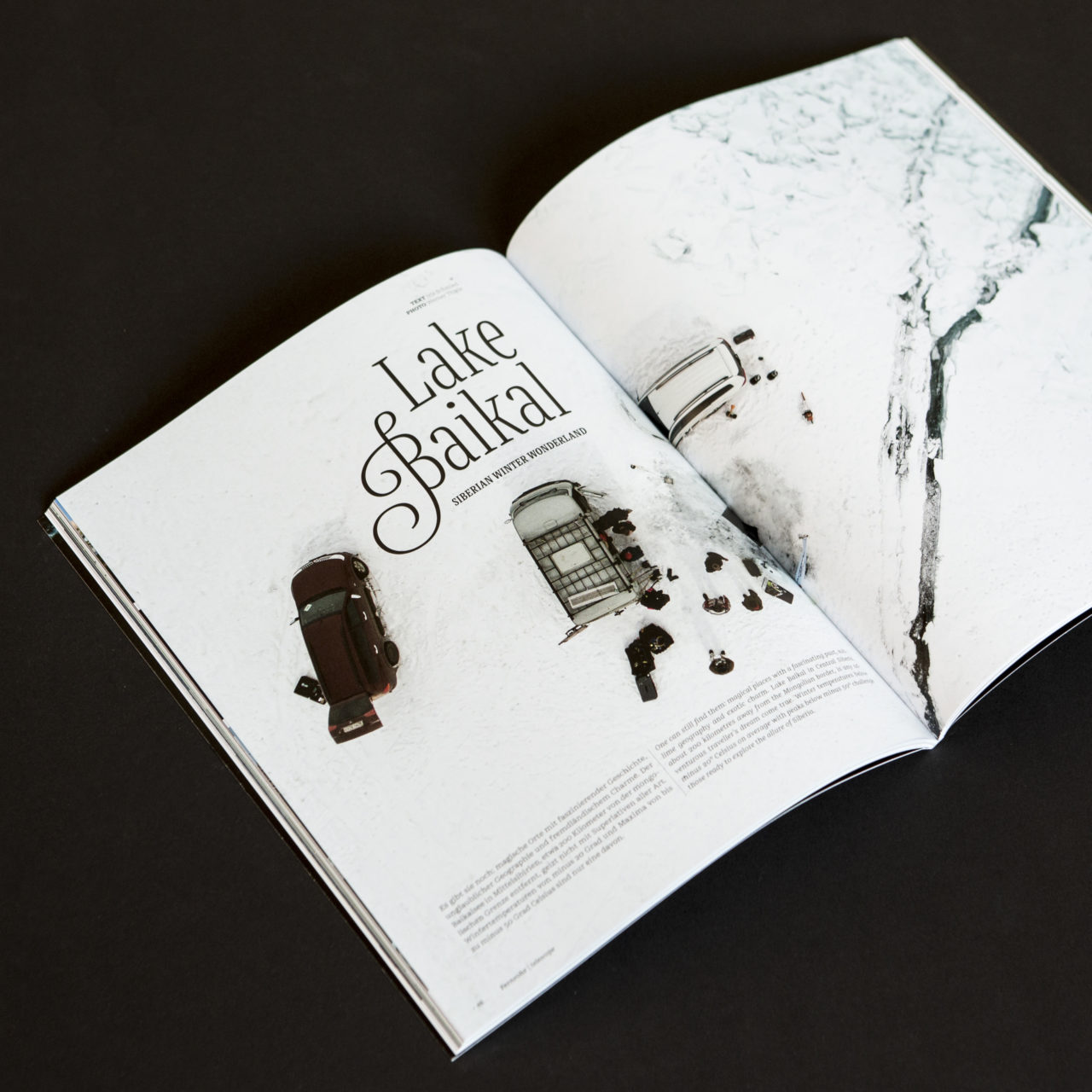 Bluescape Ausgabe 2 Artikel Baikal