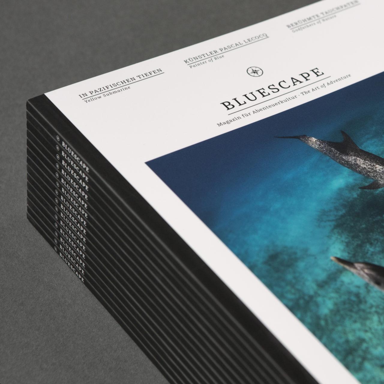 Bluescape Ausgabe 1 Stapel