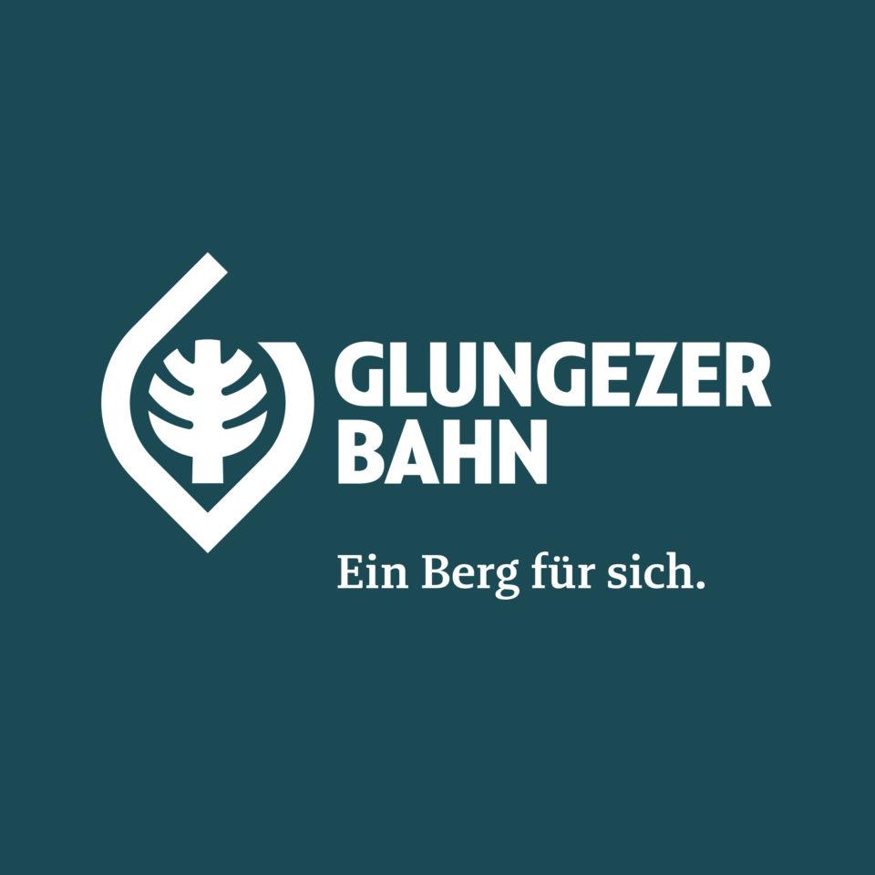 Glungezer Bahn Logo mit Claim