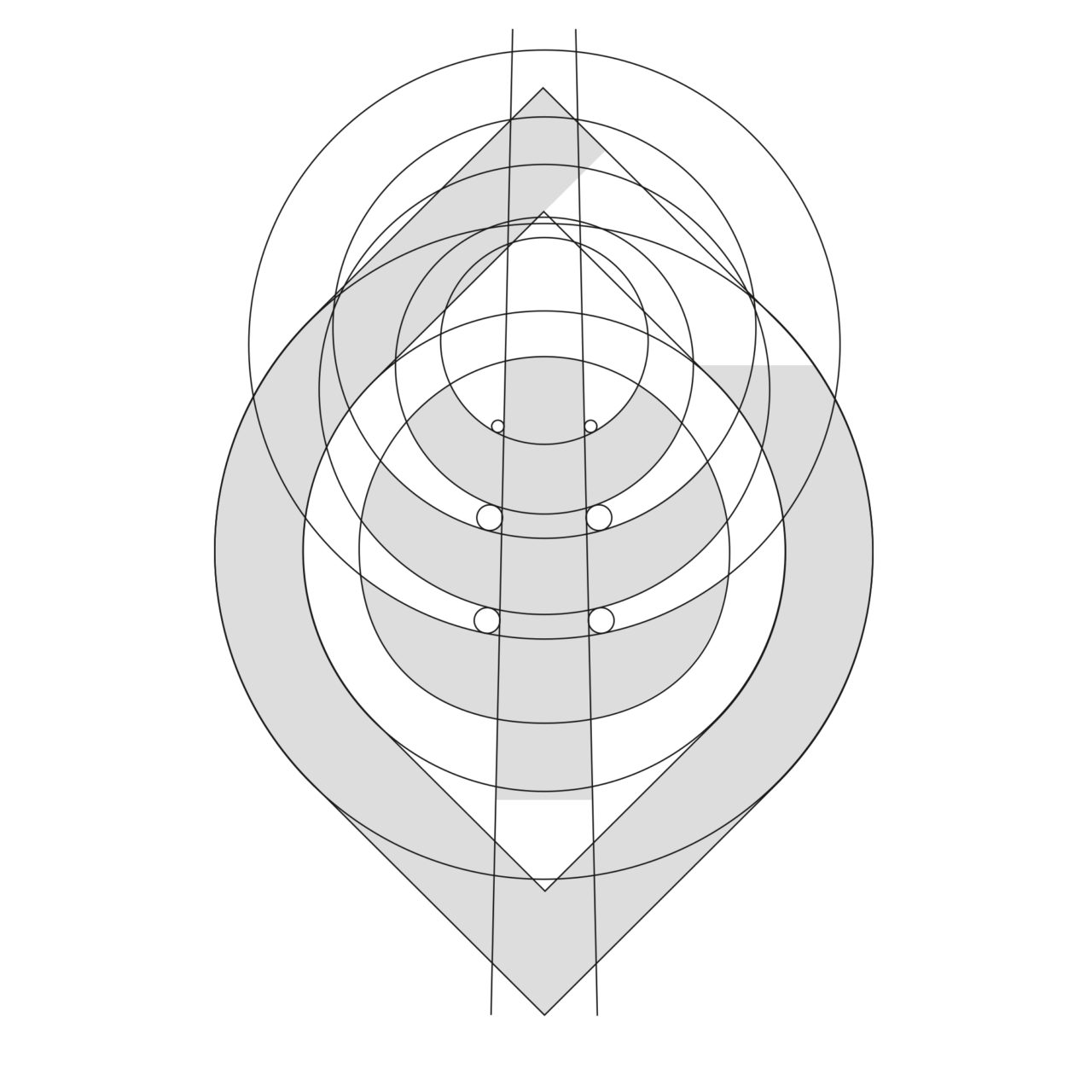 Glungezer Bahn Logokonstruktion