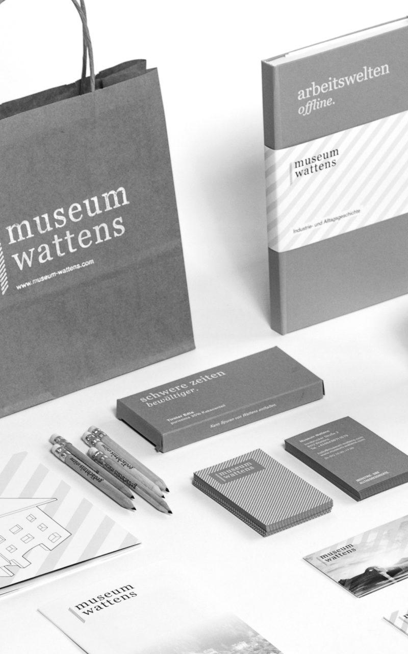 Museum Wattens Übersicht grau