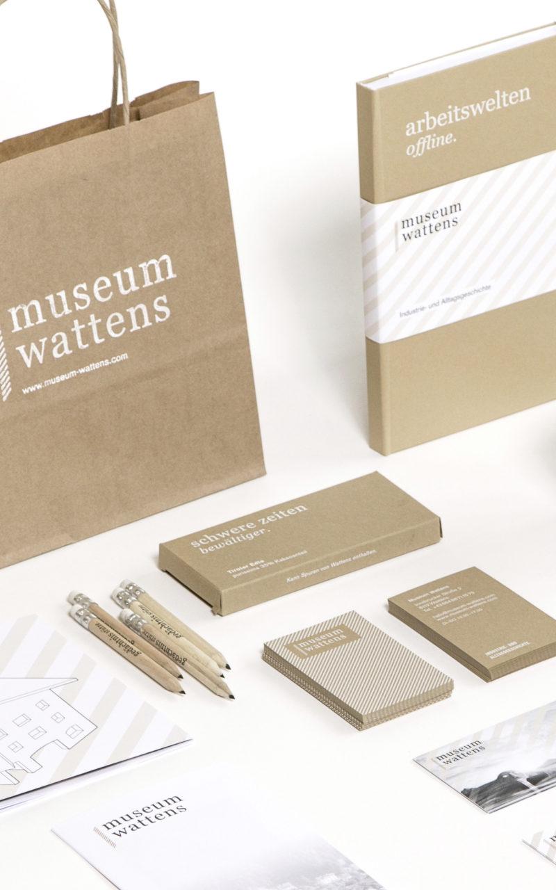 Museum Wattens Übersicht farbe