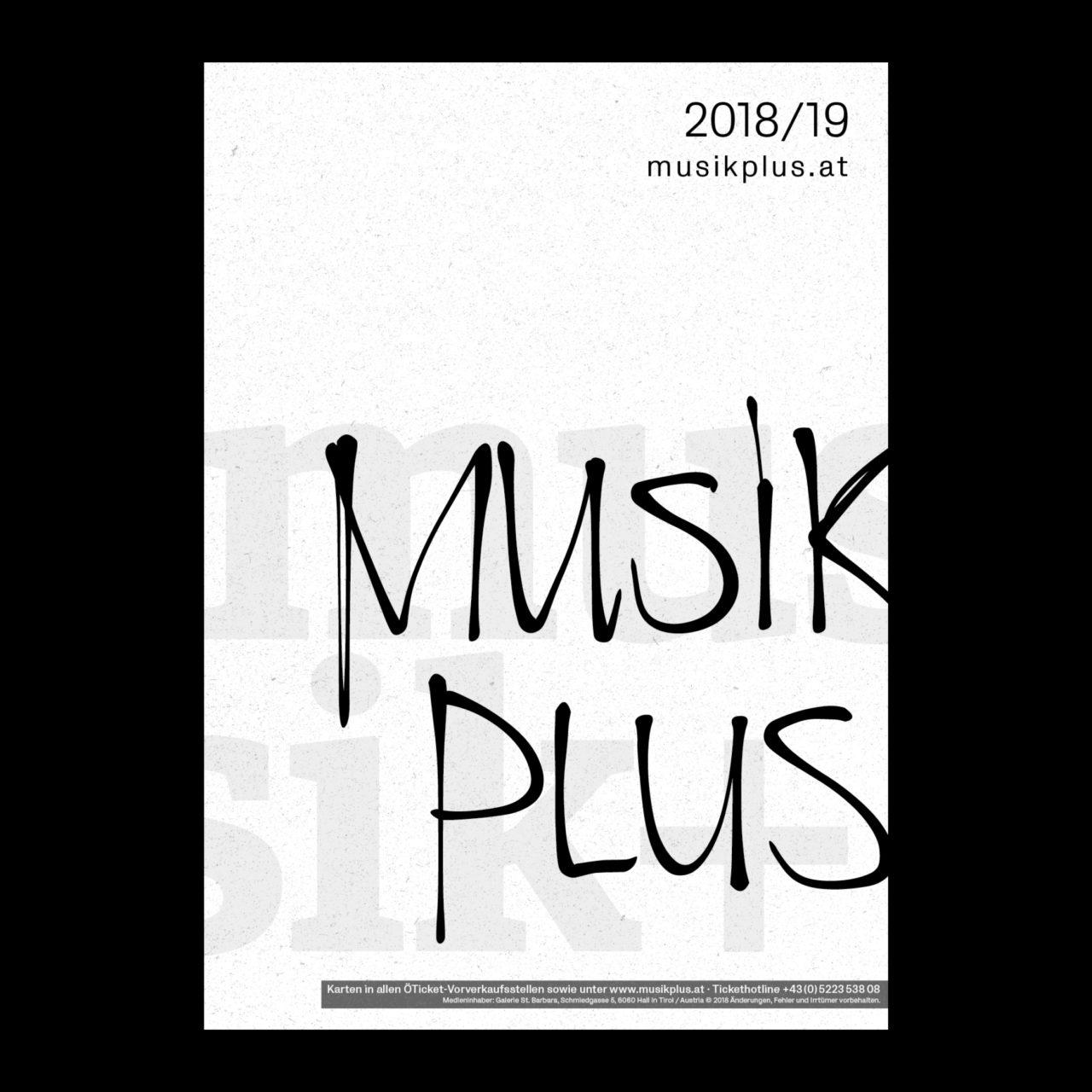 musik+ Plakat