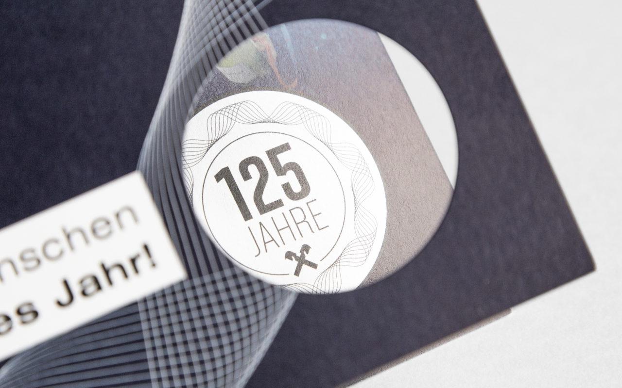 125 Jahre RB Wattens Neujahrskarte